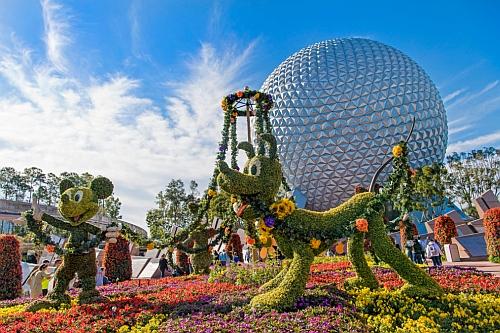 Disneyworld in Orlando, Florida