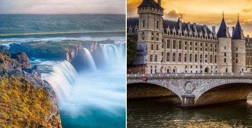 Paris, France AND Iceland on the same trip